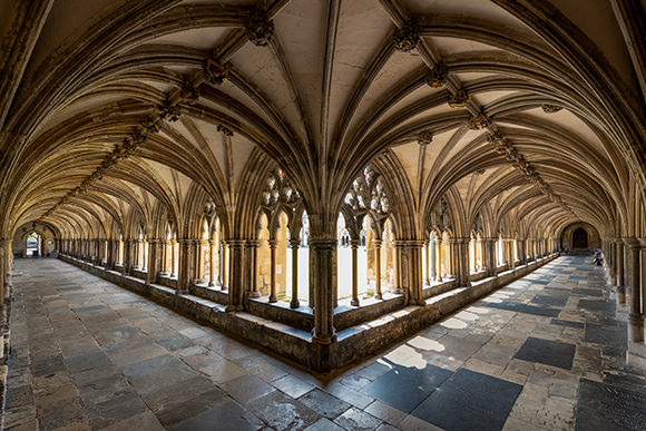Norwich Cathedral Cloisters c Bill Smith Norwich Cathedral