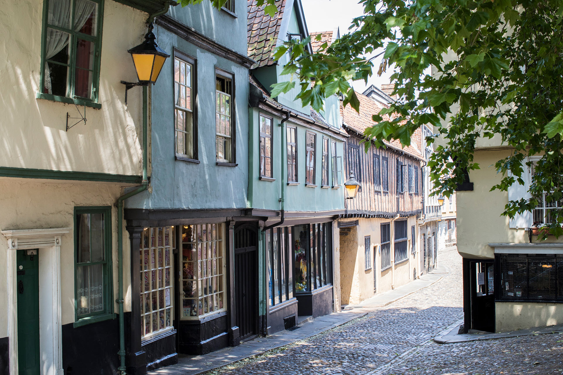 cathedral quarter norwich medieval village